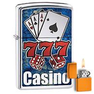 Casino & Cards Zippo Lighters