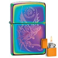 Spectrum Oilslick Zippo Lighters