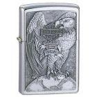 Harley Davidson Eagle & Globe Emblem Zippo Lighter - Zippo 200HDH231