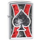 Ace Fusion Zippo Lighter in Polished Chrome - Zippo 28952