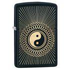 Yin Yang 2 Black Matte Zippo Lighter - Zippo 29423