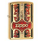 Fusion Zippo Polished Brass Zippo Lighter - Zippo 29510