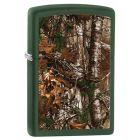 Realtree Xtra Zippo Lighter in Green Matte - Zippo 29585