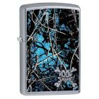 Moon Shine Cammo Undertow Zippo Lighter in Street Brushed Chrome - Zippo 29592