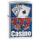 Fusion Casino Zippo Lighter in High Polished Chrome - Zippo 29633