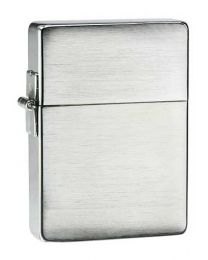 Plain 1935 Replica Brushed Chrome Zippo Lighter - Zippo 1935.25