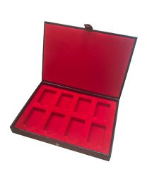 Zippo Lighter Hard Leather Collectors Case for 8 Zippo Lighters - Zippo 2005131