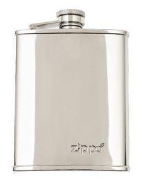 Zippo 177ml 6oz Polished Stainless Steel Hip Flask - Zippo 2005268