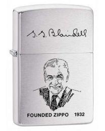George Blaisdell Zippo Founders Lighter - Zippo 200FL