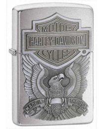 Harley Davidson Made in USA Emblem Zippo Lighter - Zippo 200HDH284