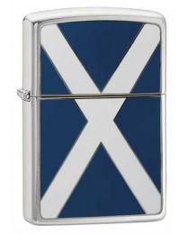 Scotland Flag Emblem Zippo Lighter - Zippo 200S