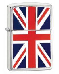 Union Jack Emblem Zippo Lighter - Zippo 200UJ