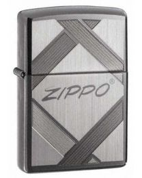 Unparalleled Tradition Zippo Lighter in Dark Chrome - Zippo 20969