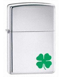 A Bit O Luck Zippo Lighter in Polished Chrome - Zippo 24007