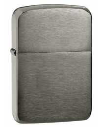 Plain 1941 Replica Zippo Lighter in Dark Brushed Chrome - Zippo 24096