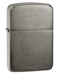 Plain 1941 Replica Zippo Lighter in Dark Brushed Chrome - Zippo 24096