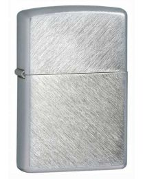 Herringbone Sweep Zippo Lighter in Brushed Chrome - Zippo 24648