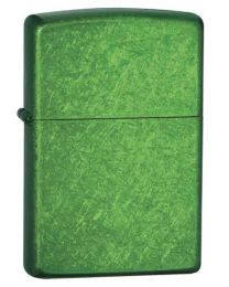 Plain Zippo Lighter in Meadow Green - Zippo 24840