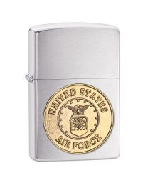 US Air Force Emblem Zippo Lighter - Zippo 280AFC