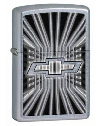 Chevy Insignia Zippo Lighter in Street Chrome - Zippo 28260