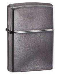 Plain Zippo Lighter in Grey Dusk - Zippo 28378