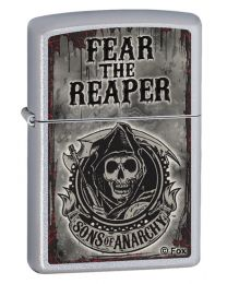 Sons of Anarchy Fear The Reaper Zippo Lighter - Zippo 28502
