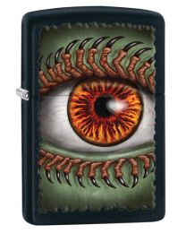 Monster Eye Black Matte Zippo Lighter - Zippo 28668