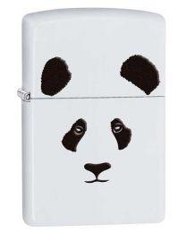 Panda Zippo Lighter in White Matte - Zippo 28860