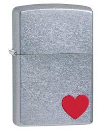 Love Zippo Lighter in Street Chrome - Zippo 29060