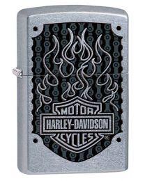 Harley Davidson HD Flame Logo Zippo Lighter - Zippo 29157