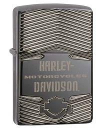 Harley Davidson HD Armor Carved Zippo Lighter - Zippo 29165
