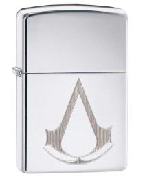 Assassins Creed Zippo Lighter in High Polished Chrome - Zippo 29486