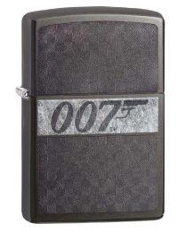 James Bond 007 ICED Zippo Lighter in Grey Dusk - Zippo 29564