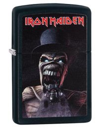 Iron Maiden Zippo Lighter - Wildest Dreams in Matte Black - Zippo 29576