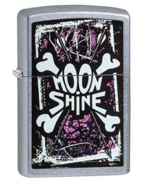 Moon Shine Cammo Muddy Girl Zippo Lighter in Street Brushed Chrome - Zippo 29594