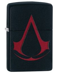 Assassins Creed Zippo Lighter in Matte Black - Zippo 29601