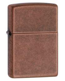 Plain Zippo Lighter in Antique Copper - Zippo 301FB
