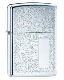 High Polished Chrome Venetian Zippo Lighter - Zippo 352