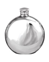 English Pewter Company 4oz Round Hip Flask