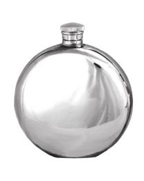 English Pewter Company 6oz Round Hip Flask