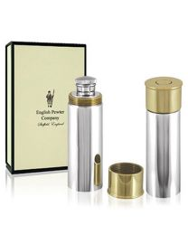 English Pewter Co. 4oz Shotgun Cartridge Hip Flask
