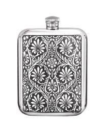 English Pewter Company 6oz Victorian Purse Hip Flask