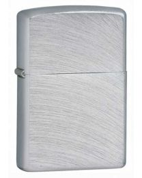 Chrome Arch Zippo Lighter in Brushed Chrome - Zippo 24647